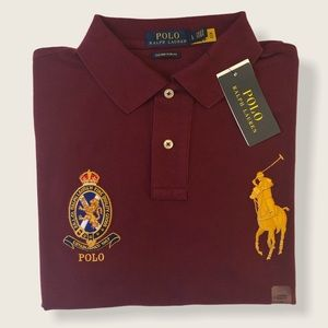 POLO RALPH LAUREN / CUSTOM FIT (L)